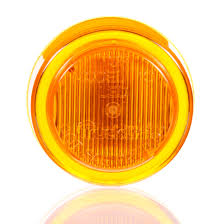 truck lite marker lights 10 series led yellow round 2 diode marker clearance light p2
