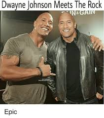 Dwayne Johnson Meme - dwayne johnson meets the rock rock nstagra dwayne johnson rove epic