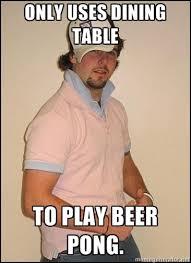 Beer Pong Meme - douchey boyfriend meme meets beer pong the brew noob beer