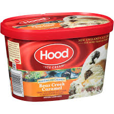 cool cups in the hood hood new england creamery bear creek caramel ice cream 1 5 qt