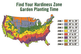 Garden Planting Zones - zones for planting hardiness zone map at arborday usda oregon