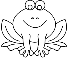 Frog Coloring Pages For Toddler Coloringstar Frog Colouring Page