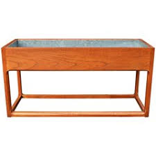 mid century modern planters and jardinieres 249 for sale at 1stdibs
