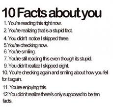 10 facts about you imghumour