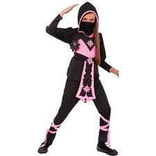 Ninja Halloween Costumes Girls Pink Crystal Ninja Girls Japanese Warrior Child Halloween Costume