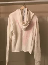 vlone vlone white reversible hoodie sz m rare legit new wiz tags