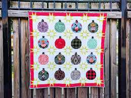 video holiday ornament quilt sew sweetness