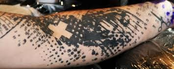 tribal and nonfigurative tattoos