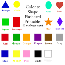 printable shapes flashcards division problems for 3rd graders