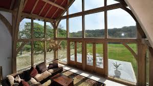 hand build architectural wood framework model house oak framed buildings designed and hand built nationwide