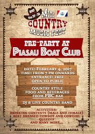 roadshow miri country music festival 4 february u2013 piasau boat club