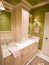 Bathroom Vanity With Linen Tower Double Vanity Linen Towers Houzz