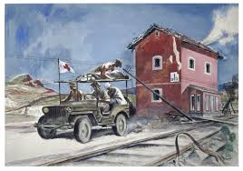 jeep painting canvas search the collections canadian war museum