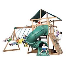 Amazon Backyard Playsets by Amazon Com Backyard Discovery Mountain Range All Cedar Wood