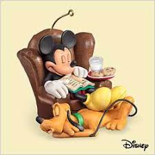 2006 dreaming of mickey pluto hallmark ornament at