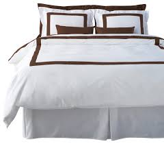 lacozi brown and white duvet cover set modern duvet covers and
