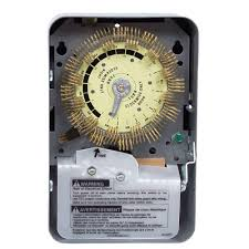 Intermatic 24 Hr Outdoor Timer by Intermatic T1900 Series 20 Amp 24 Hour Heavy Duty Mechanical Time