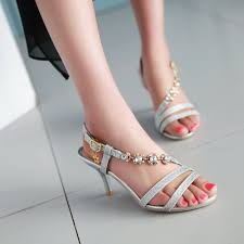 Images of Strappy Bling Sandals