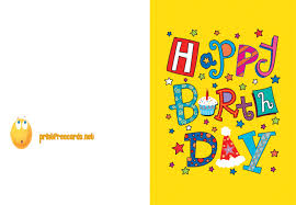printable free birthday cards print a birthday card free gangcraft