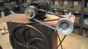 reversing direction of old ge motor vacuum pump record cutting