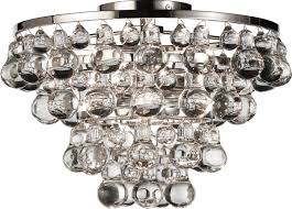 Flush Mount Chandeliers by Decorating Robert Abbey Lighting Bling Chandelier Robert Abbey