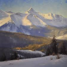 Mountain Landscape Paintings by 508 Best Mountain Landscapes Images On Pinterest Landscape