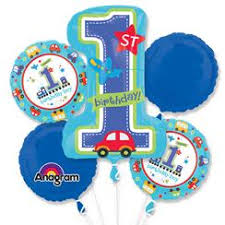 1st birthday balloon delivery 1st birthday balloons party delights