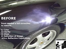 porsche 993 coating correction detail with cquartz finest
