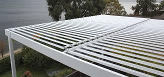 louvered roof pergola patio cover calgary edmonton regina suncoast
