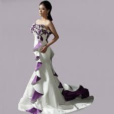wedding dresses with purple detail bridesmaid dresses purple and white wedding dresses in jax