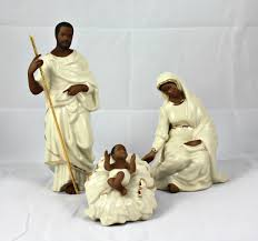 amazon com lenox african american oh holy night nativity family
