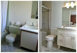 Benjamin Moore Gray Bathroom - gray cashmere white cabinet beige 12 x 24 porcelain tiles spa