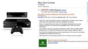 xbox one console with kinect amazon in video games xbox one now available for pre order on amazon update gamestop