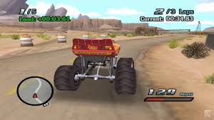 monster truck video game play disney pixar cars lightning mcqueen monster truck vs sally