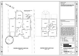 ground floor extension plans 4 point plans projects