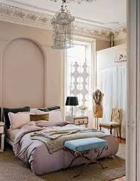 bedroom design appealing birdcage chandelier with crown molding
