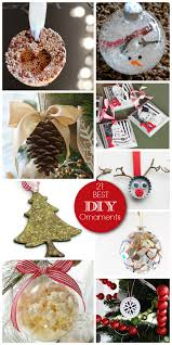 family diy ornaments a helicopter