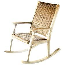 Rocking Chair Online Leisuregrow Hanoi Wood U0026 Weave Rocking Chair Natural U2013 Garden Trends