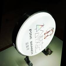 Outdoor Light Box Signs Outdoor Waterproof Led Light Box Circular Light Box