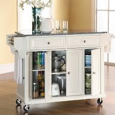 kitchen cart island pottstown kitchen cart island with granite top reviews birch