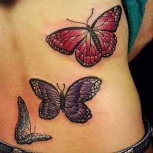Butterflies Tattoos On - 25 best butterfly tattoos on back ideas on black