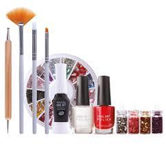 rio nail artist nail art starter kit amazon co uk beauty