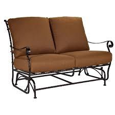 chic glider loveseat patio furniture outdoor gliders outdoor patio