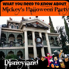 what you need to know about mickey u0027s halloween party in disneyland