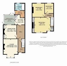 Single Garage Size by 3 Bedroom End Of Terrace House For Sale In Field Street Kettering