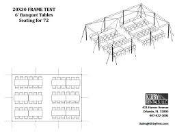floor plans u2013 kirby tent rentals