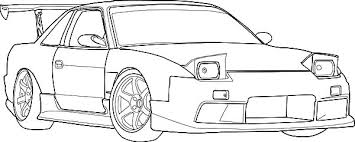 coloring pages drifting cars s13 drifting cars colouring page s13 drifting cars colouring page