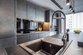 semi custom cabinets chicago q7 modern condo custom cabinet gallery modern cabinets by