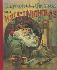 Twas The Night Before Halloween Poem The Night Before Christmas Or A Visit Of St Nicholas Clement C
