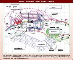 construction site plan planning and building the subansiri lower dam and hydro project